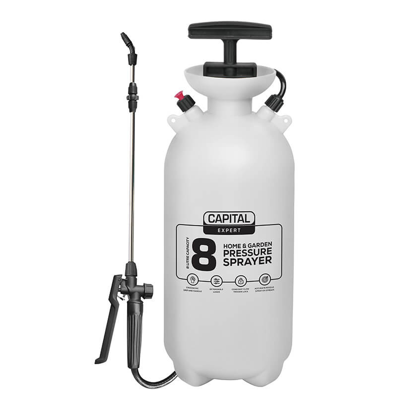 Capital Expert 8 Litre Pressure Sprayer